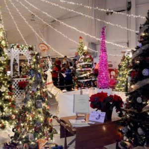 Christmas Tree Walk @ Lawrence Community Center | Anamosa | Iowa | United States