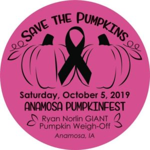 Anamosa Pumpkinfest & Ryan Norlin GIANT Pumpkin Weigh-off @ Lawrence Community Center | Anamosa | Iowa | United States
