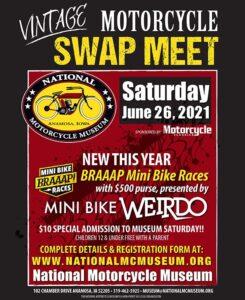 National Motorcycle Museum Vintage Motorcycle Swap Meet @ National Motorcycle Museum |  |  |